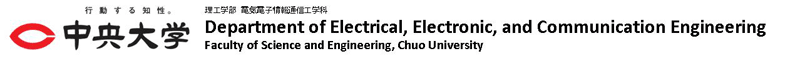 Dept. EECE, Faculty of Sci. & Eng., Chuo Univ.